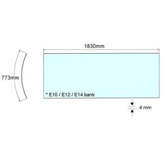 Alisun Acrylplaat E-serie bank 4mm