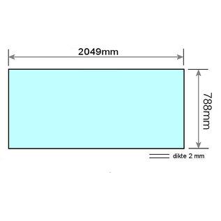 Sunvision Acrylplaat Alisun Sunvision Hemel L= 2049mm