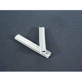 Hapro Profilgummi für Aluverschlußleiste  (Acrylscheibe)