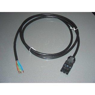 Hapro Konnektor 3 polig mit Kabel 2 mtr