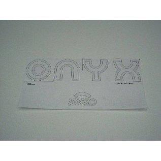 Hapro Aufkleber 'Onyx'