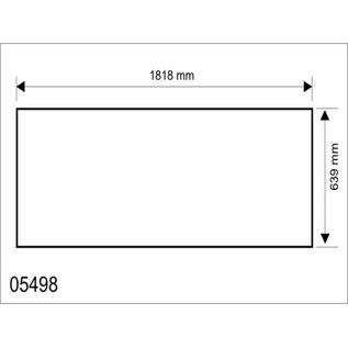 Hapro Acrylplaat Hapro Pearl bank, 1818x639x3mm