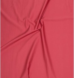 Cotton Satin Uni 0065 - coral red