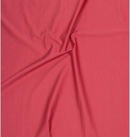 Satin de Coton Uni 0065 - corail rouge