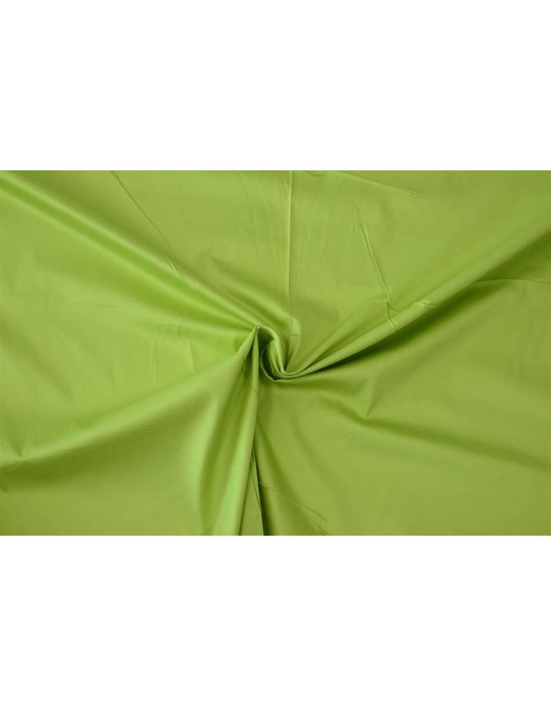 Cotton Satin Uni 0027 - Limonengrün