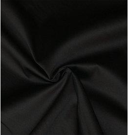 Satin Cotton Uni 0011 - black