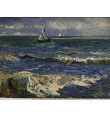 Jersey Inkjet 737 - Seascape at Les Saintes-Maries-de-la-Mer Vincent van Gogh, June 1888