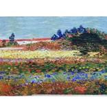 Jersey Inkjet 734 - Van Gogh / Jardin des fleurs, Arles