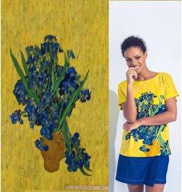 Jersey Inkjet 739 - Irissen, Vincent van Gogh