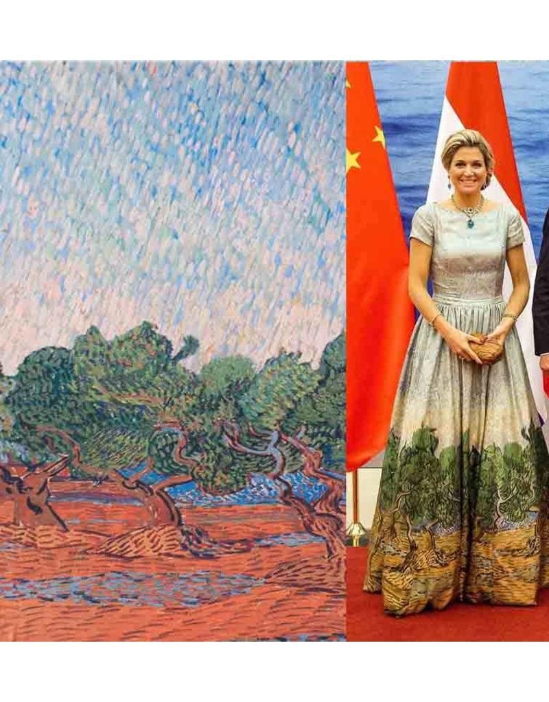 Gloss Cotton Inkjet 797 - Olivenhain, Vincent van Gogh