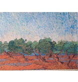 Glanz Baumwolle Inkjet 797 - Olijfgaard, Vincent van Gogh