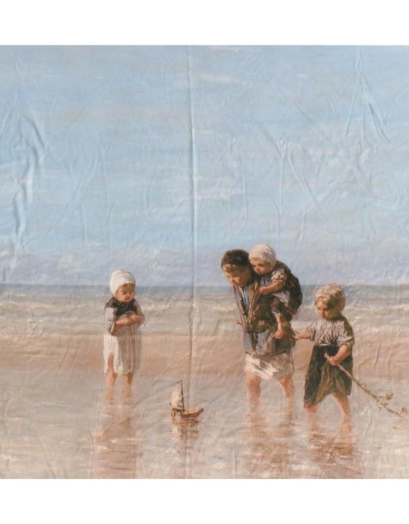 Glossy Cotton Inkjet 709 - children of the sea, Jozef Israëls