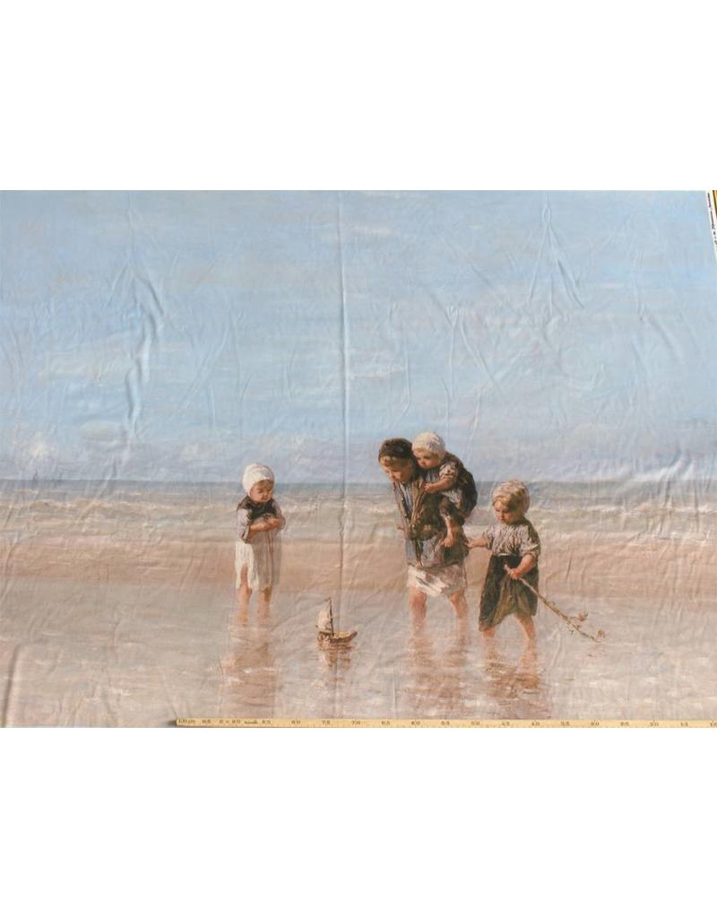 Jet d'encre coton glacé 709 - Enfants de la mer, Jozef Israëls