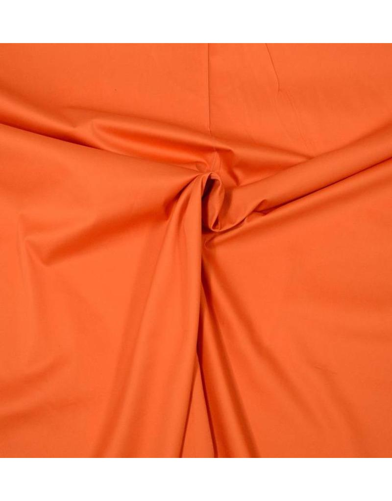Baumwollsatin Uni 0047 - Orange
