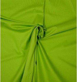 Coton Satin Uni 0048 - vert vif