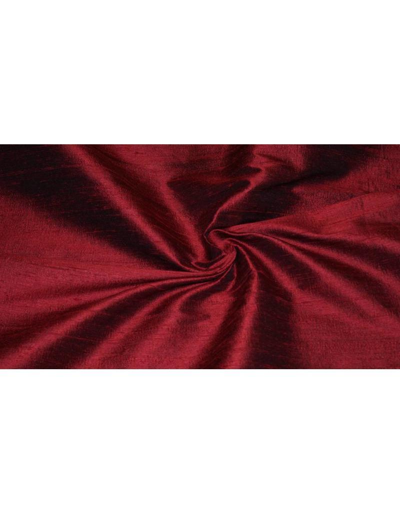 Dupion Silk D8 - rouge foncé
