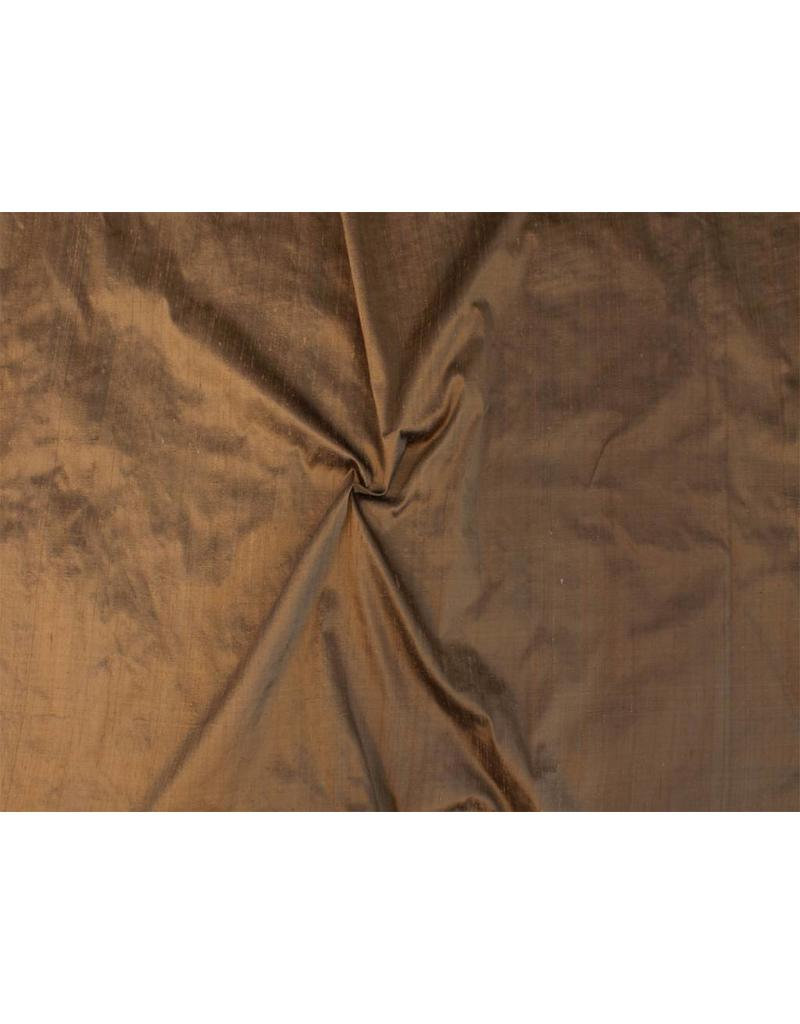 Dupion Silk D24 - Sattelbraun