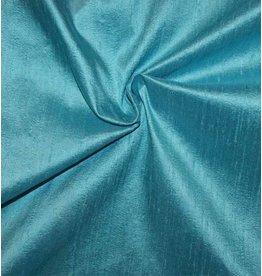 Dupion Zijde D26 - turquoise - LAST