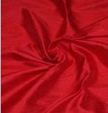 Dupion Zijde D4 - rood