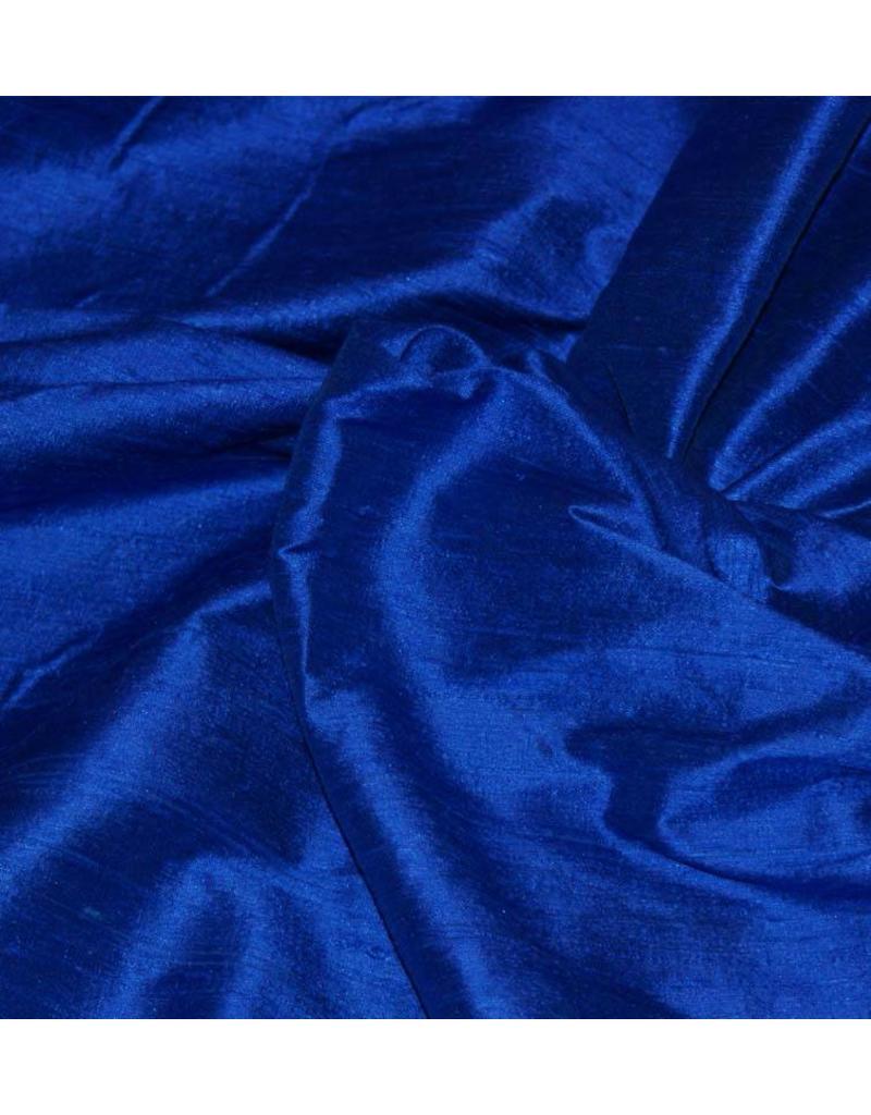 Dupionseide D1 - Kobaltblau