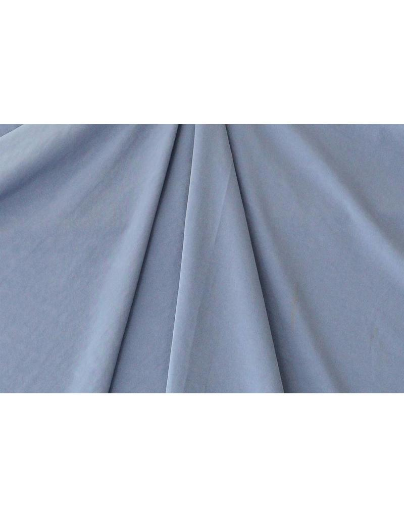 Washed Satin Mat FM14 - jeansblauw