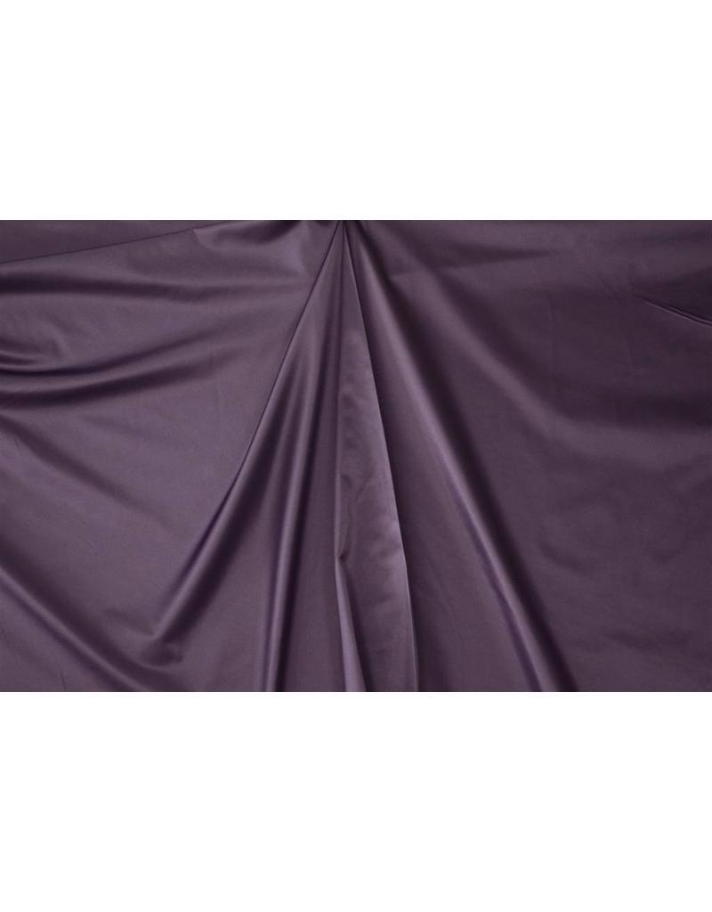 Glänzende Baumwolle Uni S20 - lila