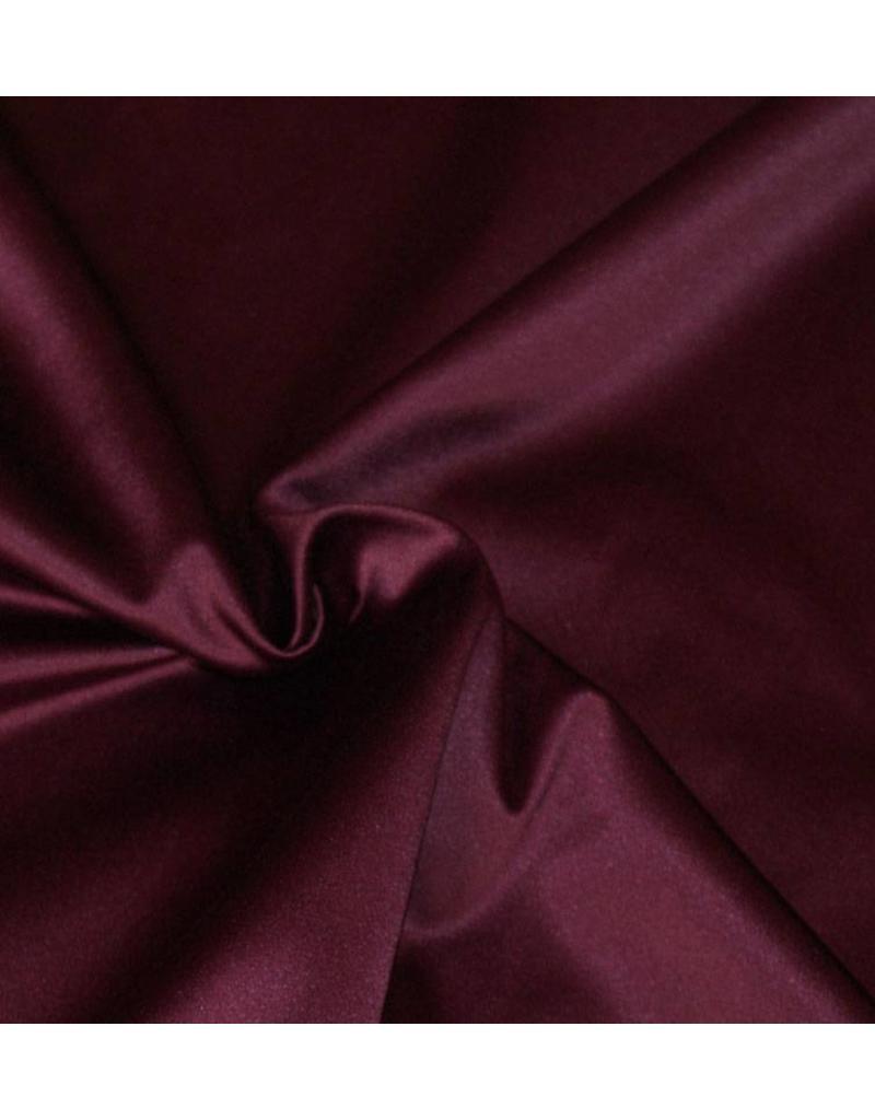 Glans Katoen Uni S12 - paars / bordeaux
