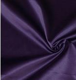 Glossy Cotton Uni S7 - violet foncé