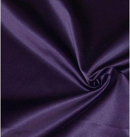 Glossy Cotton Uni S7 - dark purple