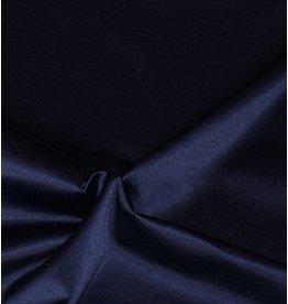 Glänzende Baumwolle Uni S6 - Mitternachtsblau