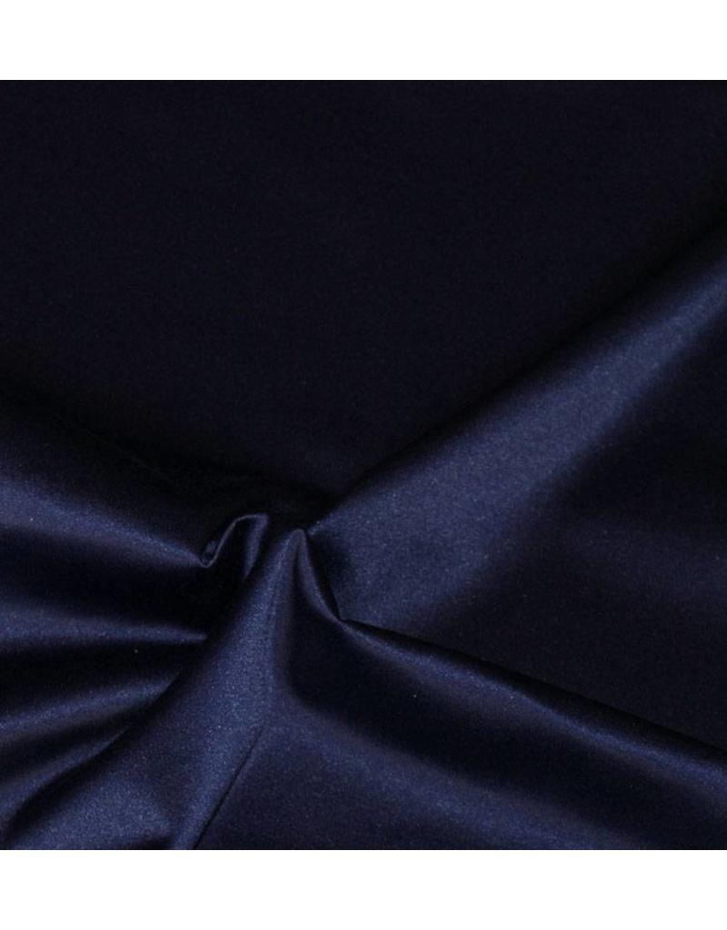 Glanz Baumwolle Uni S6 - Mitternachtsblau