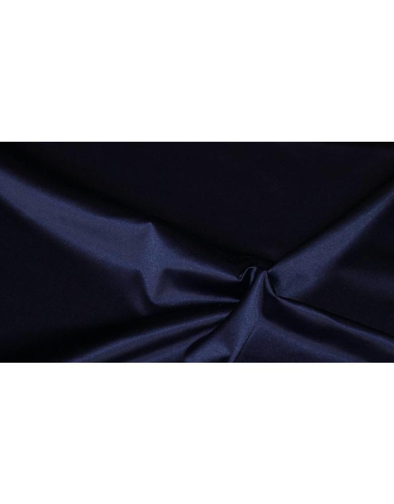Coton brillant Uni S6 - bleu nuit