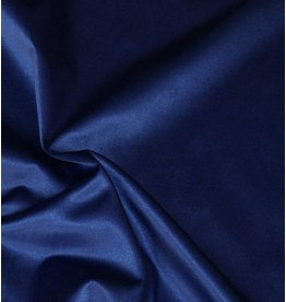 Glänzende Baumwolle Uni S4 - Kobaltblau