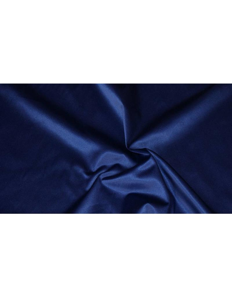 Glans Katoen Uni S4 - kobaltblauw