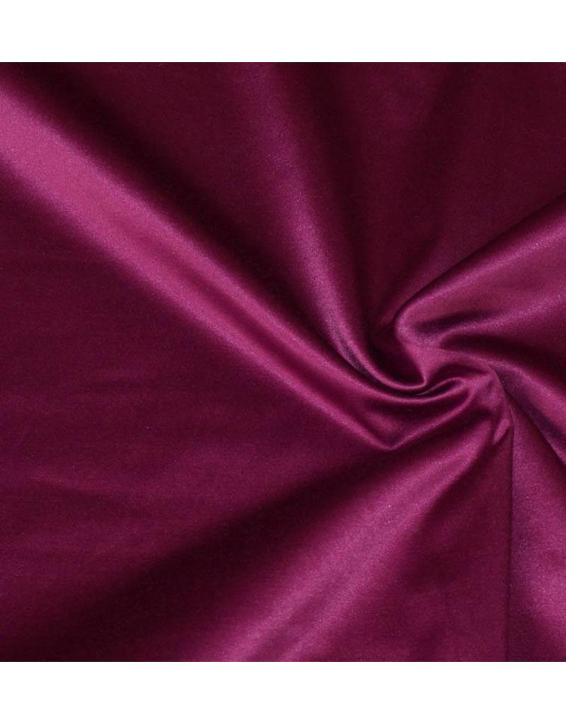 Glossy Cotton Uni S2 - fuchsia foncé