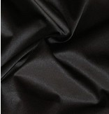 Glossy Cotton Uni S01 - noir