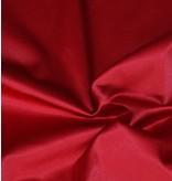Glänzende Baumwolle Uni S13 - rot
