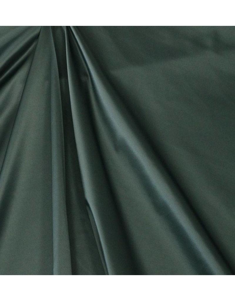 Glänzende Baumwolle Uni S23 - dunkelgrün