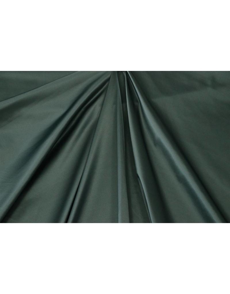 Glossy Cotton Uni S23 - dark green