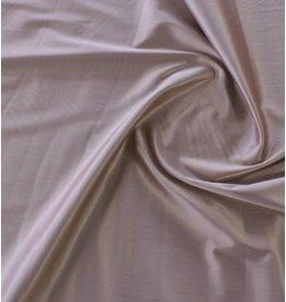 Glänzende Baumwolle Uni S19 - altes Rosa