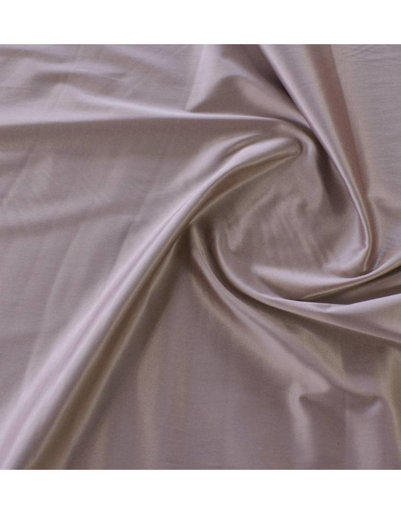 Glans Katoen Uni S19 - oud roze