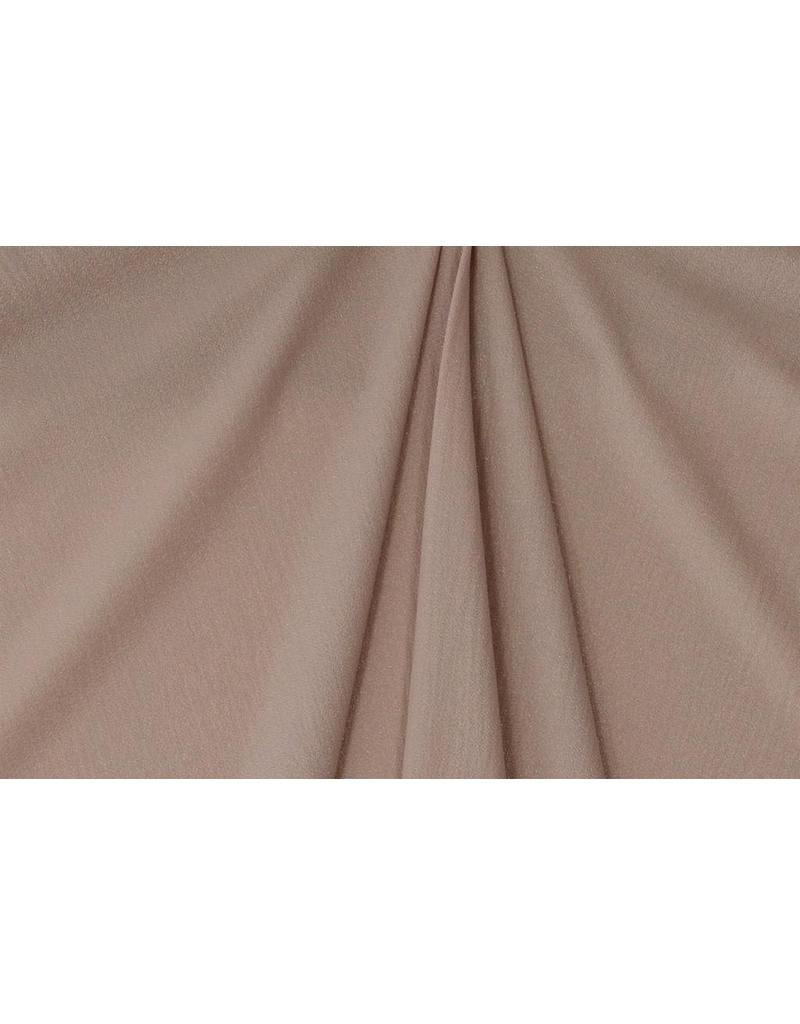 Geprägter Chiffon SC10 - Puder Rosa silber