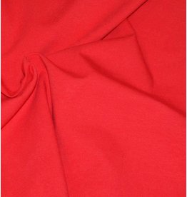 Jersey coton V7 - rouge