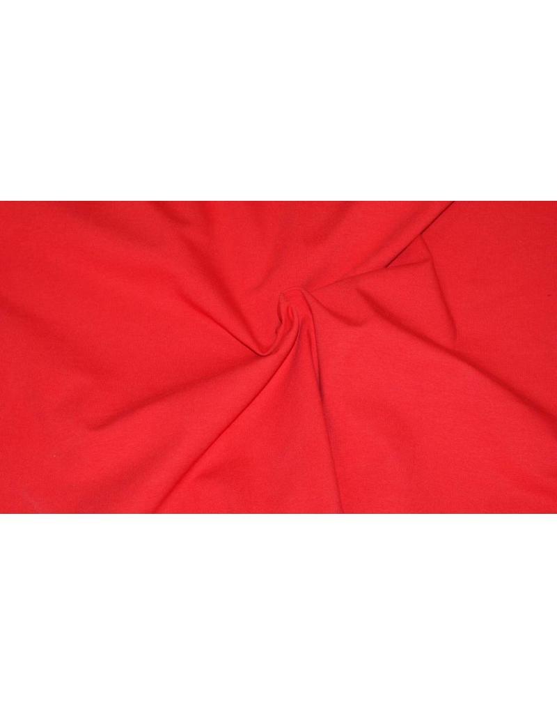 Jersey coton V7 - rouge