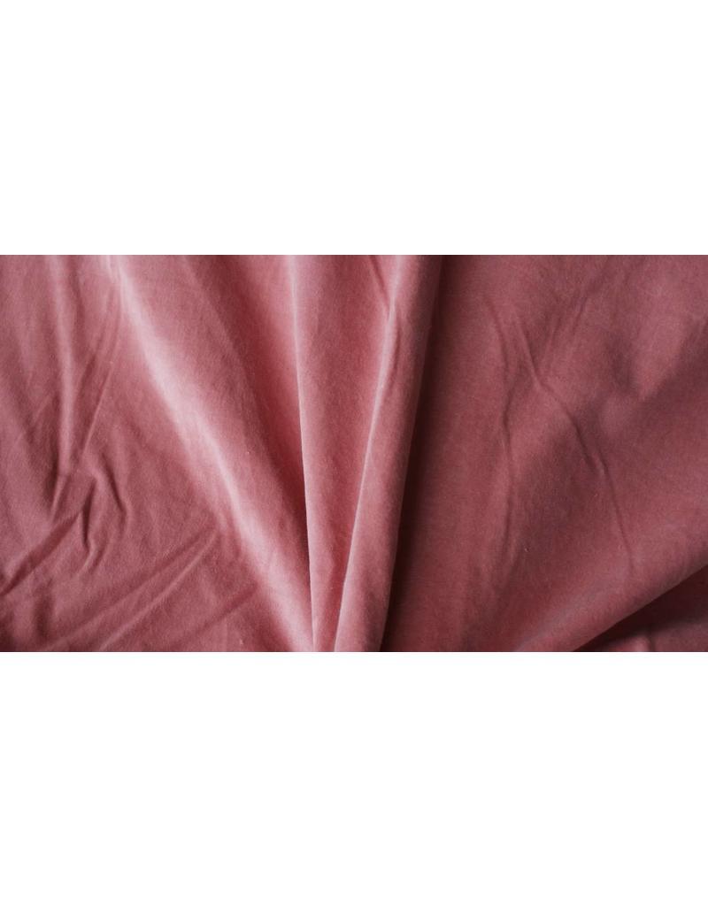 Cotton Velvet WV3 - salmon pink