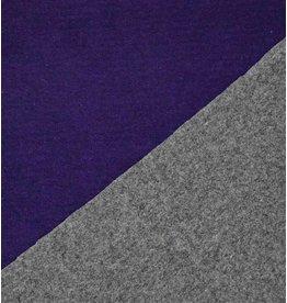 Double Face W22 - violet / gris