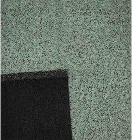Double Face Bouclé DFB06 - vert poudre / gris foncé