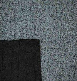 Double Face Bouclé DFB05 - bleu clair / noir