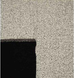 Double Face Bouclé DFB04 - light gray / black