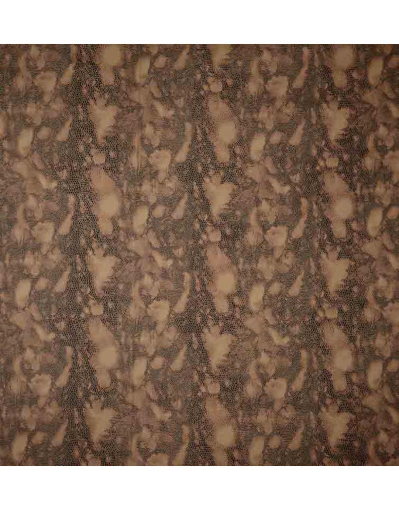 Imitation Leather Snake 2792 - braun